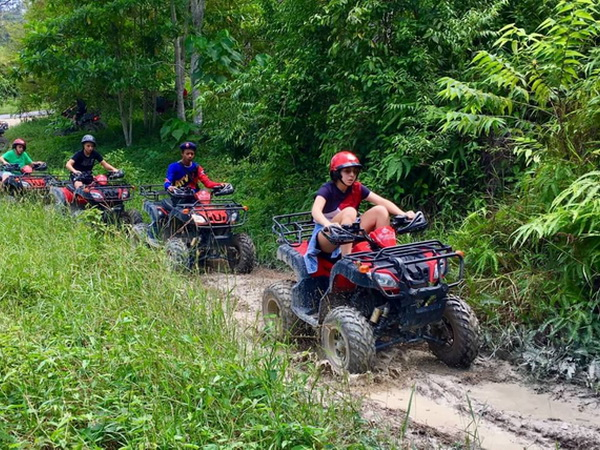 Phuket ATV 30 Minute Elephant Trekking 30 Minute Tour